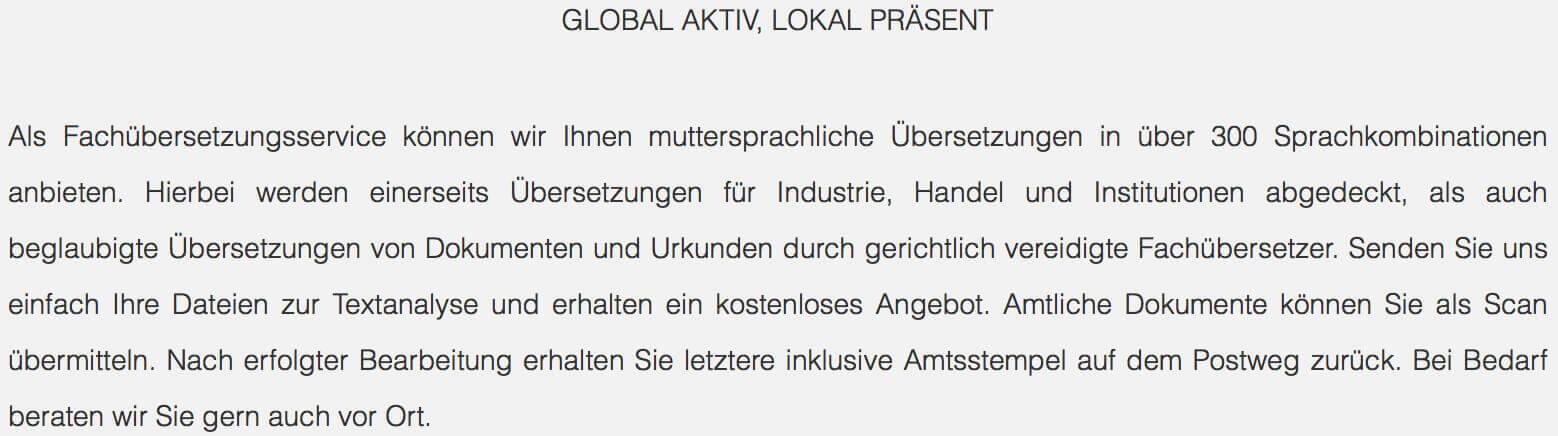 übersetzungsbüro Freiburg übersetzungsagentur24